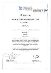 Berater Offensive Mittelstand Dirk Krone