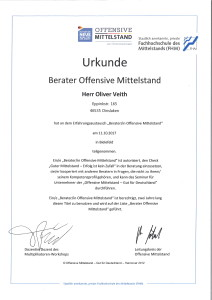 Berater Offensive Mittelstand Oliver Veith