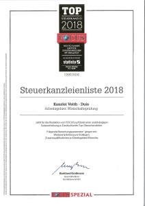 Steuerkanzleienliste 2018 WP
