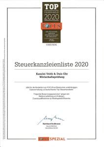 Steuerkanzleienliste 2020